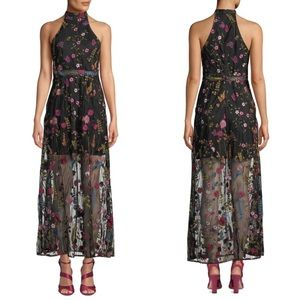 NWT betsey Johnson floral embroidered dress